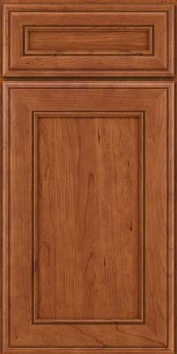 Square Recessed Panel - Veneer (AA6C) Cherry in Sunset - Base
