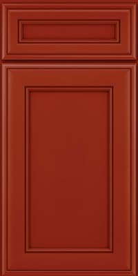Square Recessed Panel - Veneer (AA6M) Maple in Cardinal - Base