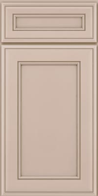 Square Recessed Panel - Veneer (AA6M1) Maple in Chai - Base