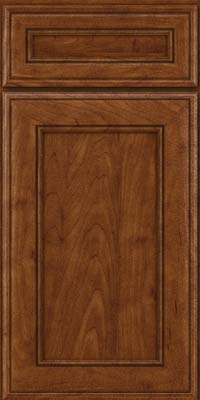 Square Recessed Panel - Veneer (AA6M) Maple in Cognac - Base