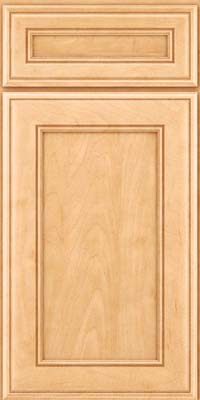 Square Recessed Panel - Veneer (AA6M) Maple in Honey Spice - Base