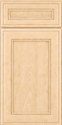 Square Recessed Panel - Veneer (AA6M) Maple in Natural - Base