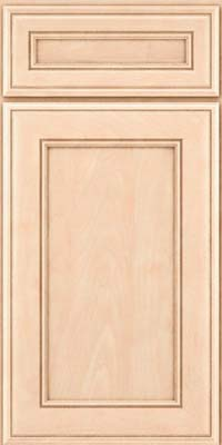 Square Recessed Panel - Veneer (AA6M) Maple in Parchment - Base