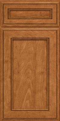 Square Recessed Panel - Veneer (AA6M) Maple in Praline - Base