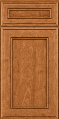 Square Recessed Panel - Veneer (AA6M) Maple in Praline w/Mocha Highlight - Base