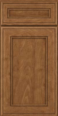 Square Recessed Panel - Veneer (AA6M) Maple in Rye - Base