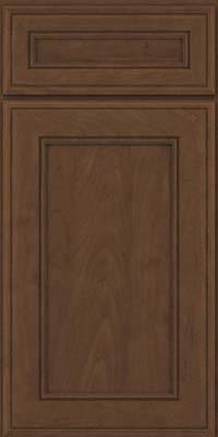 Square Recessed Panel - Veneer (AA6M) Maple in Saddle Suede - Base