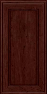 Square Recessed Panel - Veneer (AA6C) Cherry in Cabernet - Wall