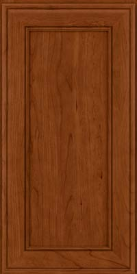 Square Recessed Panel - Veneer (AA6C) Cherry in Cinnamon - Wall