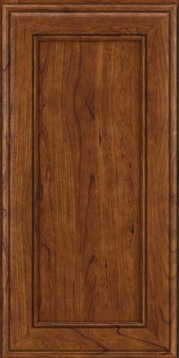 Square Recessed Panel - Veneer (AA6C) Cherry in Cognac - Wall