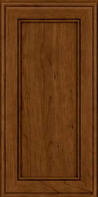 Square Recessed Panel - Veneer (AA6C) Cherry in Ginger w/Sable Glaze - Wall