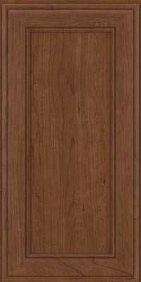 Square Recessed Panel - Veneer (AA6C1) Cherry in Hazel - Wall