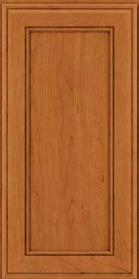 Square Recessed Panel - Veneer (AA6C) Cherry in Honey Spice - Wall
