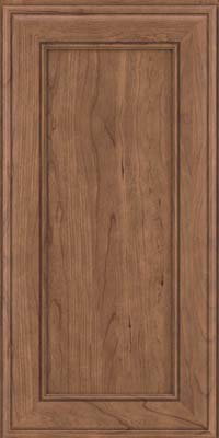 Square Recessed Panel - Veneer (AA6C) Cherry in Husk - Wall