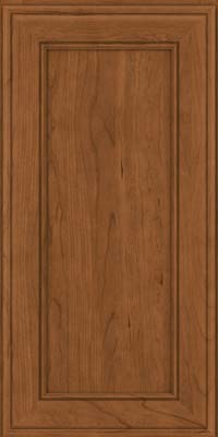 Square Recessed Panel - Veneer (AA6C) Cherry in Rye - Wall