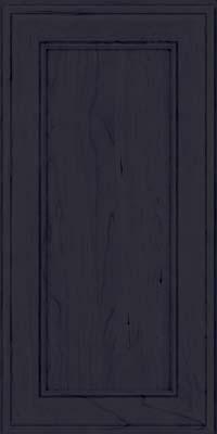 Square Recessed Panel - Veneer (AA6C) Cherry in Slate - Wall
