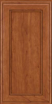 Square Recessed Panel - Veneer (AA6C) Cherry in Sunset - Wall