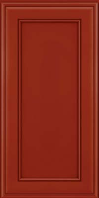 Square Recessed Panel - Veneer (AA6M) Maple in Cardinal - Wall