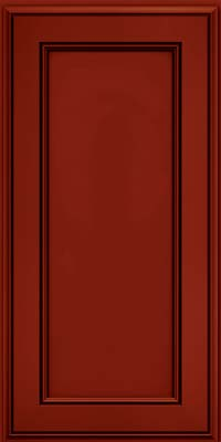 Harrington Square (AA6M1) Maple in Cardinal w/Onyx Glaze - Wall