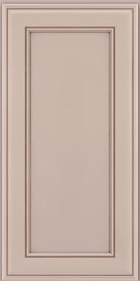 Square Recessed Panel - Veneer (AA6M1) Maple in Chai w/Cocoa Glaze - Wall