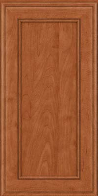 Square Recessed Panel - Veneer (AA6M) Maple in Cinnamon - Wall