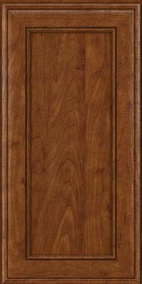 Square Recessed Panel - Veneer (AA6M) Maple in Cognac - Wall