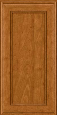 Square Recessed Panel - Veneer (AA6M) Maple in Golden Lager - Wall