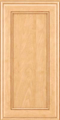 Square Recessed Panel - Veneer (AA6M) Maple in Honey Spice - Wall