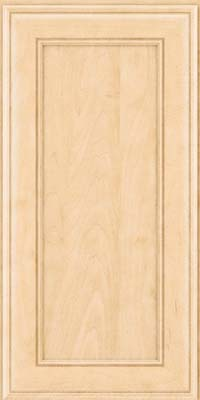 Square Recessed Panel - Veneer (AA6M) Maple in Natural - Wall