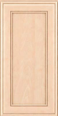 Square Recessed Panel - Veneer (AA6M) Maple in Parchment - Wall