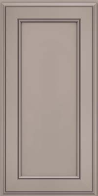Square Recessed Panel - Veneer (AA6M) Maple in Pebble Grey - Wall