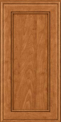 Square Recessed Panel - Veneer (AA6M) Maple in Praline w/Mocha Highlight - Wall