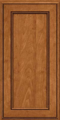 Square Recessed Panel - Veneer (AA6M) Maple in Praline w/Onyx Glaze - Wall