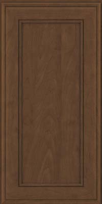 Square Recessed Panel - Veneer (AA6M) Maple in Saddle Suede - Wall