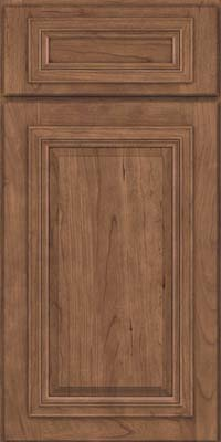 Square Raised Panel - Solid (AA7C) Cherry in Husk - Base