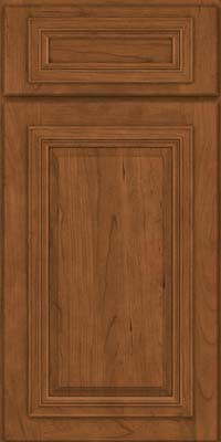 Square Raised Panel - Solid (AA7C) Cherry in Rye - Base