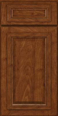 Square Raised Panel - Solid (AA7M) Maple in Cognac - Base