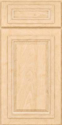 Square Raised Panel - Solid (AA7M) Maple in Natural - Base