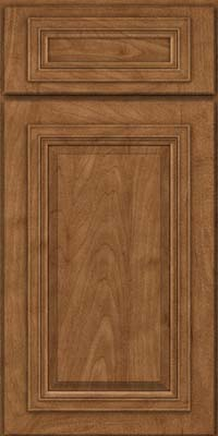 Square Raised Panel - Solid (AA7M) Maple in Rye - Base
