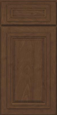Square Raised Panel - Solid (AA7M) Maple in Saddle Suede - Base