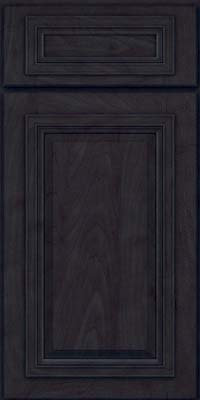Square Raised Panel - Solid (AA7M) Maple in Slate - Base