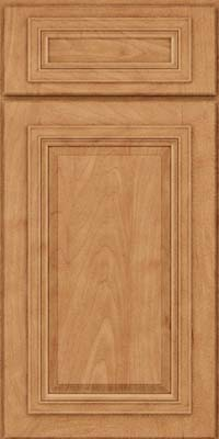 Square Raised Panel - Solid (AA7M) Maple in Toffee - Base