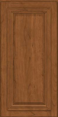 Square Raised Panel - Solid (AA7C) Cherry in Rye - Wall