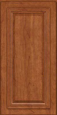Square Raised Panel - Solid (AA7C) Cherry in Sunset - Wall