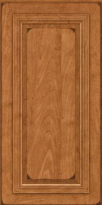 Square Raised Panel - Solid (AA7M) Maple in Burnished Praline - Wall