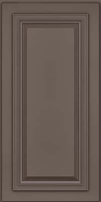 Square Raised Panel - Solid (AA7M) Maple in Greyloft w/ Sable Glaze - Wall
