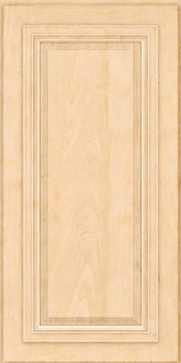 Square Raised Panel - Solid (AA7M) Maple in Natural - Wall