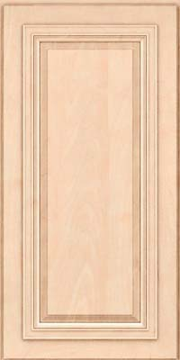 Square Raised Panel - Solid (AA7M) Maple in Parchment - Wall