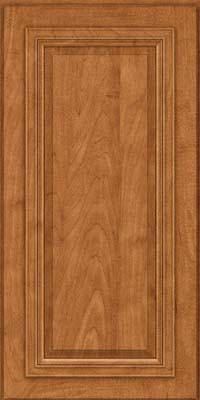 Square Raised Panel - Solid (AA7M) Maple in Praline - Wall