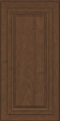 Square Raised Panel - Solid (AA7M) Maple in Saddle - Wall